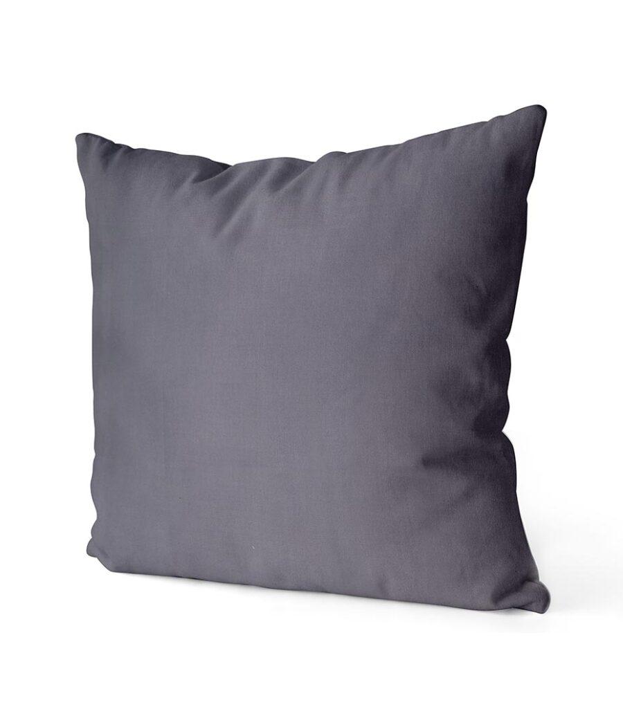 dekorativní povlak na polštář Full v tmavě šedé barvě 40x40 cm 2