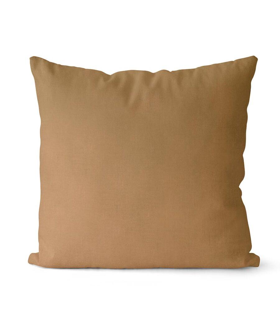 dekorativní povlak na polštář Full ve velbloudí barvě 40x40 cm 1