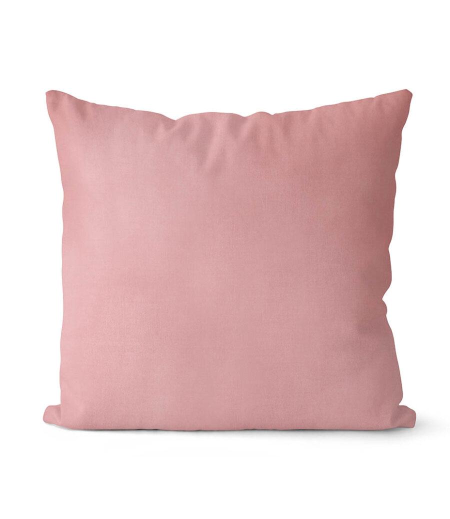 dekorativní povlak na polštář Full ve starorůžové barvě 40x40 cm 1