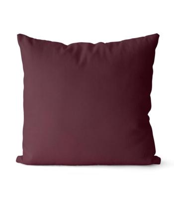 dekorativní povlak na polštář Full v tmavě vínové barvě 40x40 cm 26