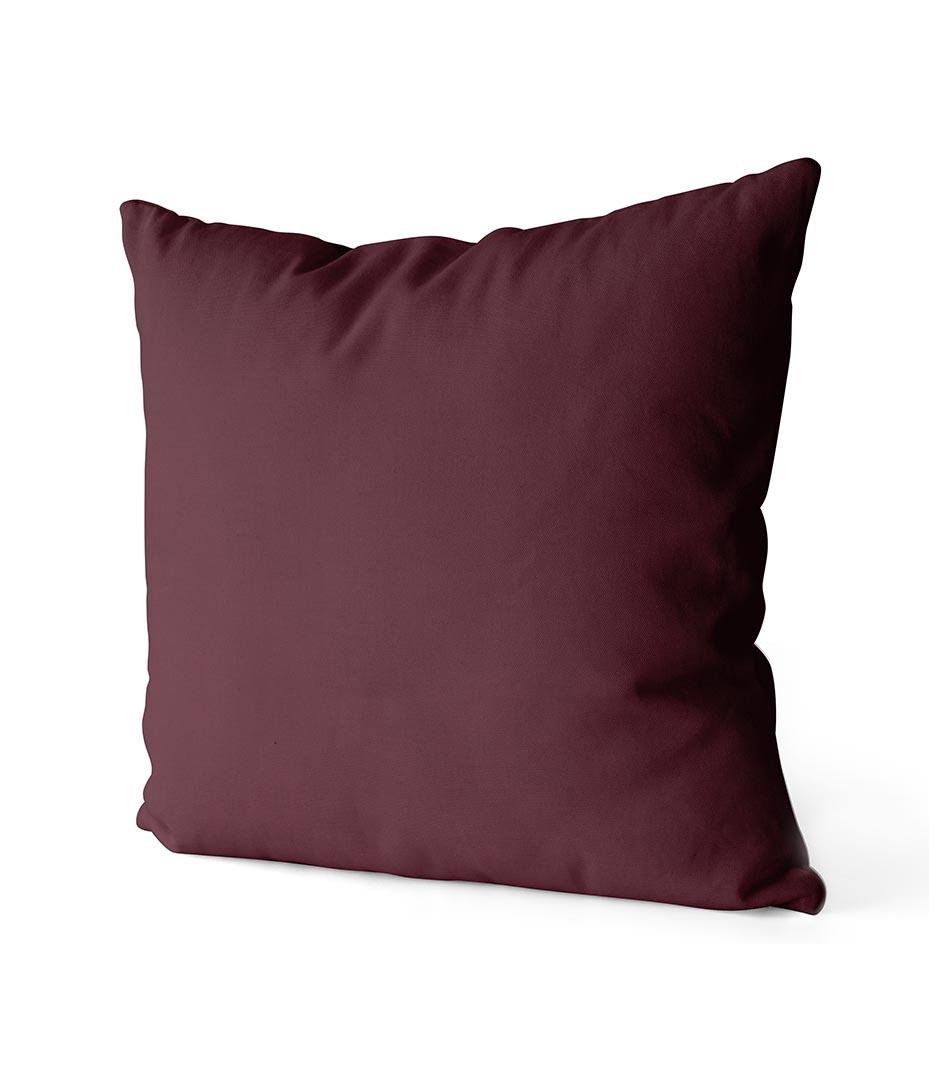 dekorativní povlak na polštář Full v tmavě vínové barvě 40x40 cm 2