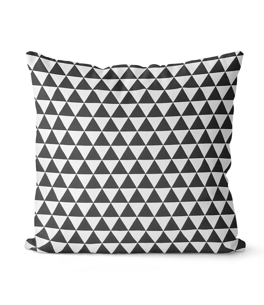 dekorativní geometrický povlak na polštář Force 40x40 cm 1